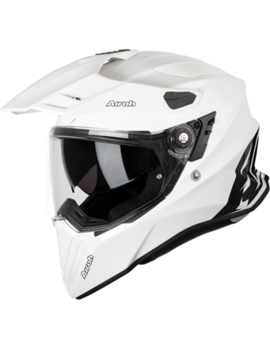 KASK AIROH COMMANDER COLOR WHITE GLOSS