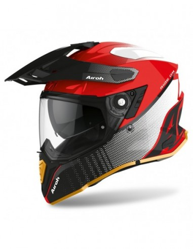 KASK AIROH COMMANDER PROGRESS LIMITED RED GLOSS EDITION